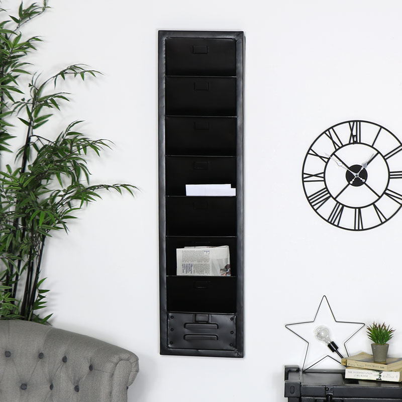 Industrial Wall Mounted File Storage
