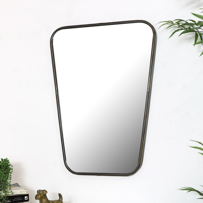 Large Bronze Wall Mirror