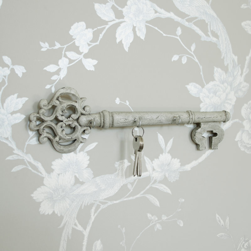 Large Cream Key Hook