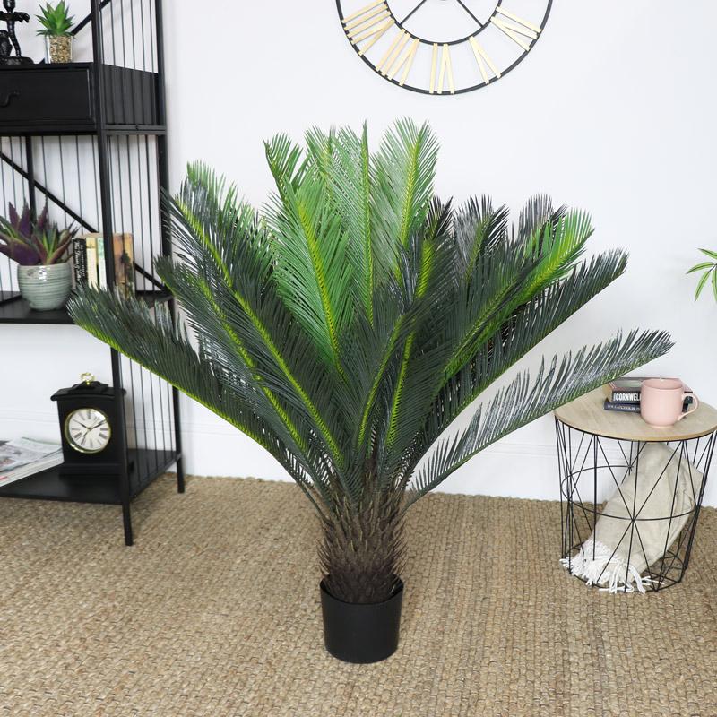 Large Faux Cyad Plant