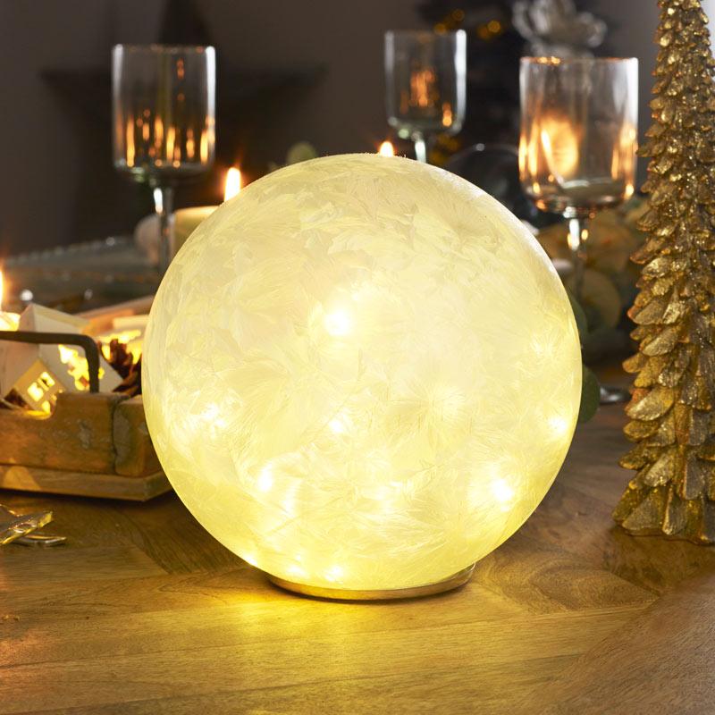 Large LED Frosted Globe Light