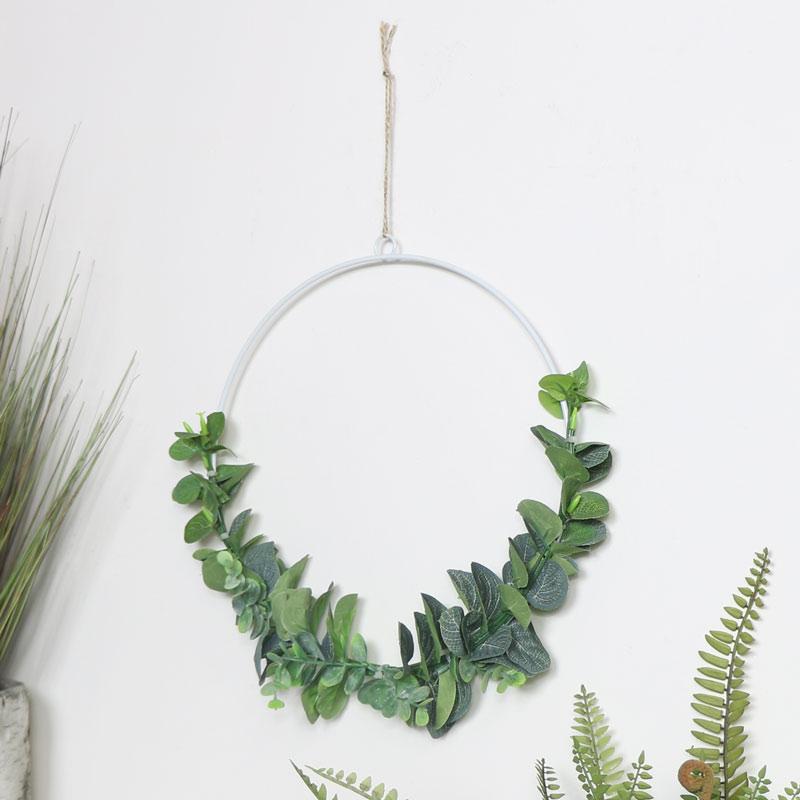Large Round Eucalyptus Hanging Decoration