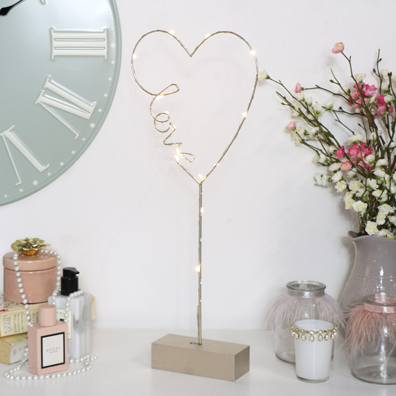 LED Free-Standing Heart