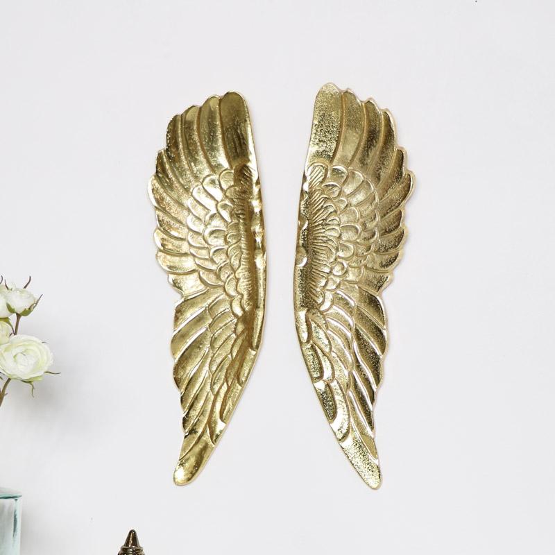 Pair of Gold Angel Wings