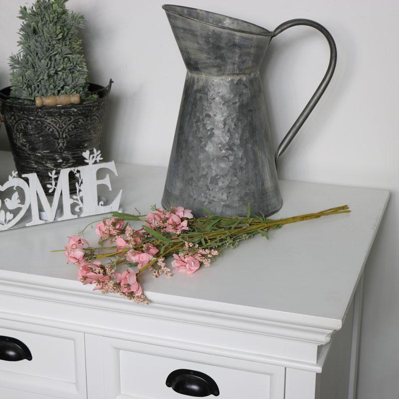 Pink Artificial Spring Flowers Bouquet