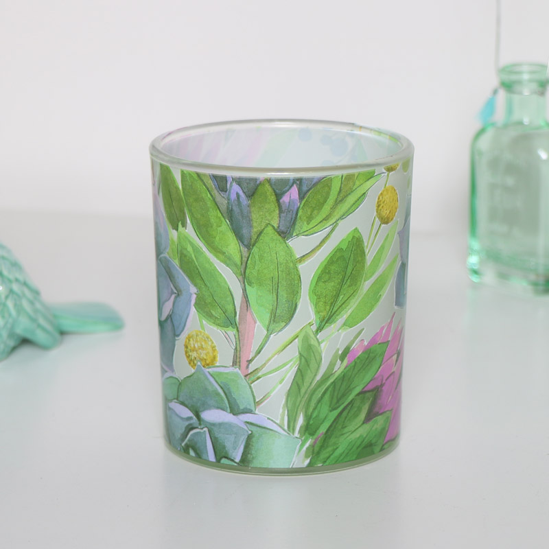 Pomelo & Honeysuckle Scented Candle