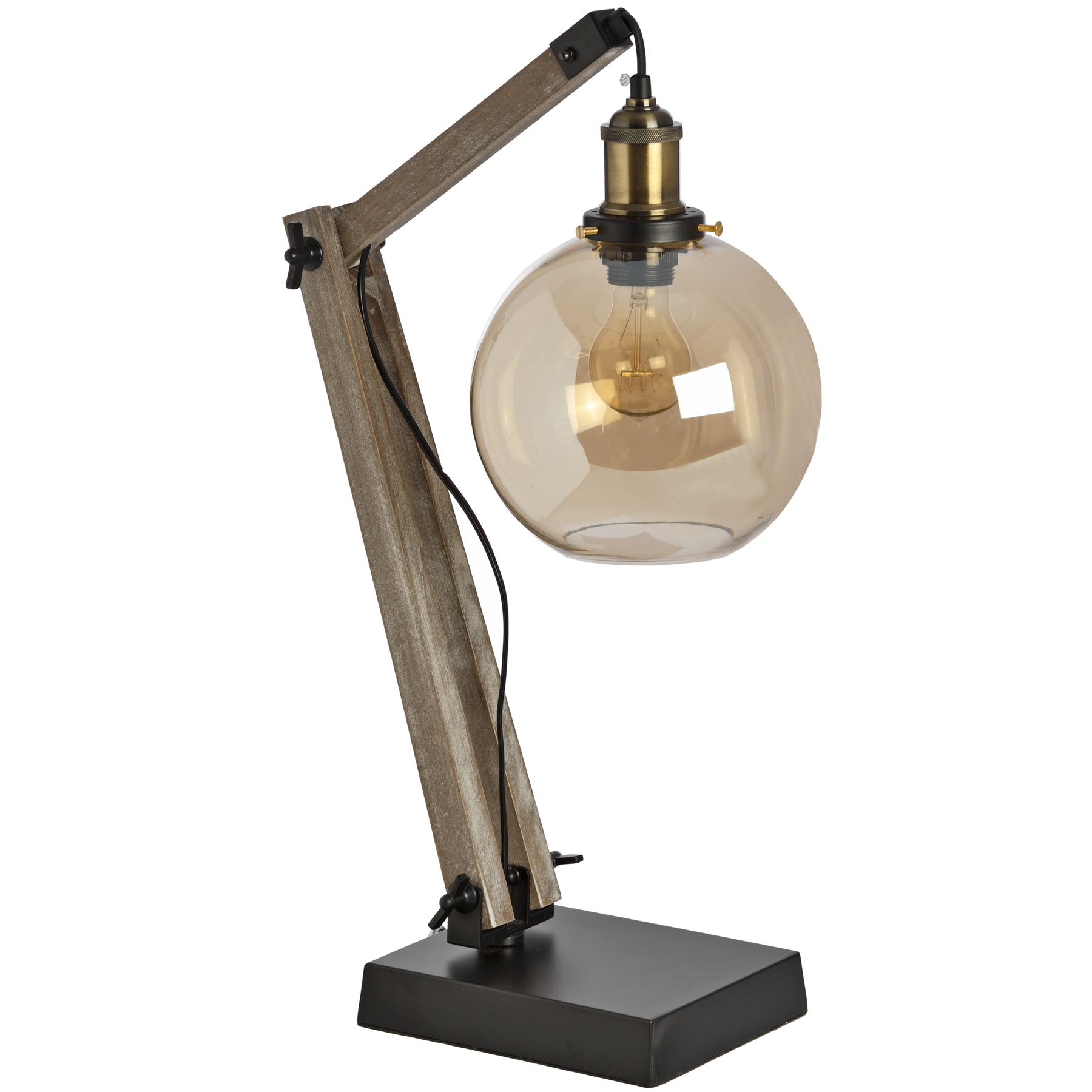 Retro Industrial Table Lamp