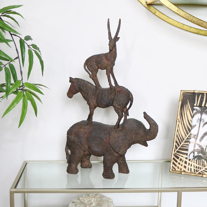 Safari Animal Ornament