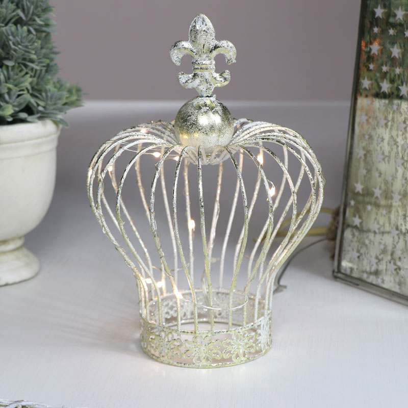 Gold Crown LED Christmas Light