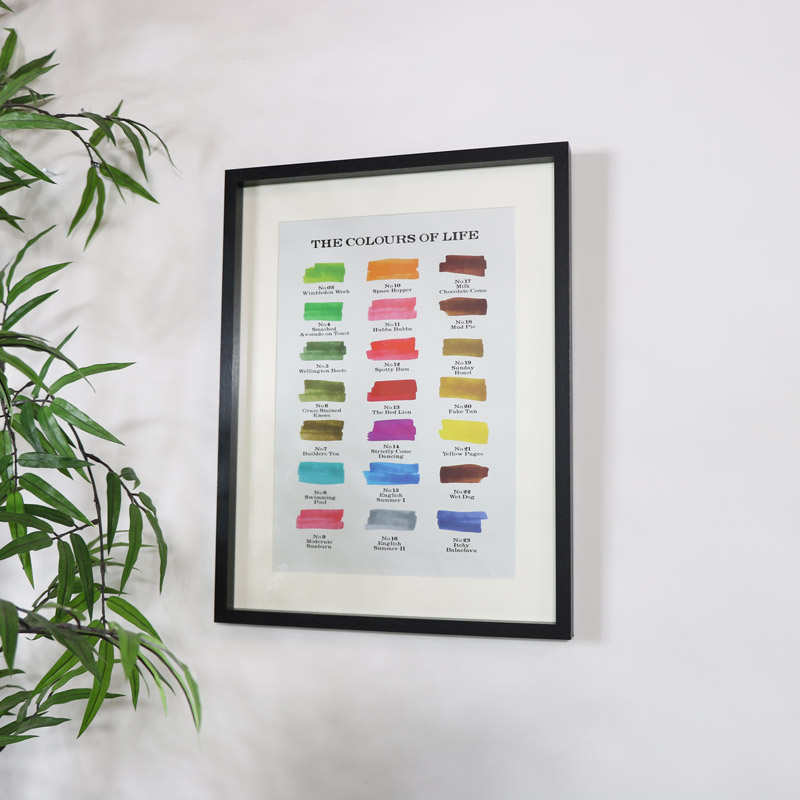 'The Colours of Life' - Wall Print