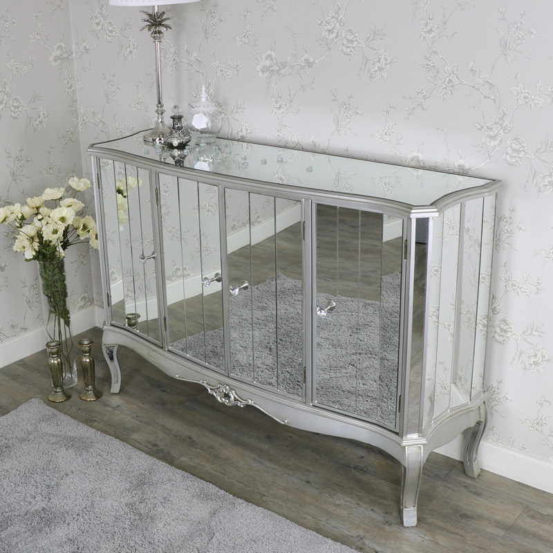 Large mirrored sideboard - Tiffany Range SECOND 0084