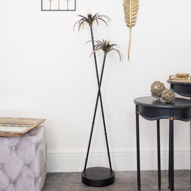 Tropical Palm Tree Floor Lamp