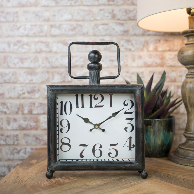 Vintage Distressed Mantel Clock