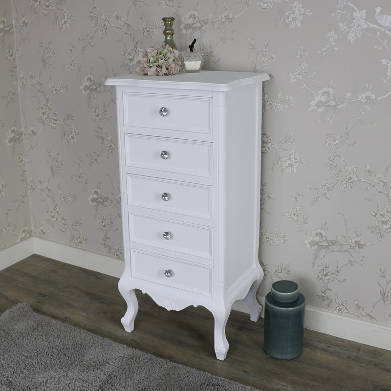 tall boy dresser for sale white 5 drawer tallboy chest of drawers elise white 8426