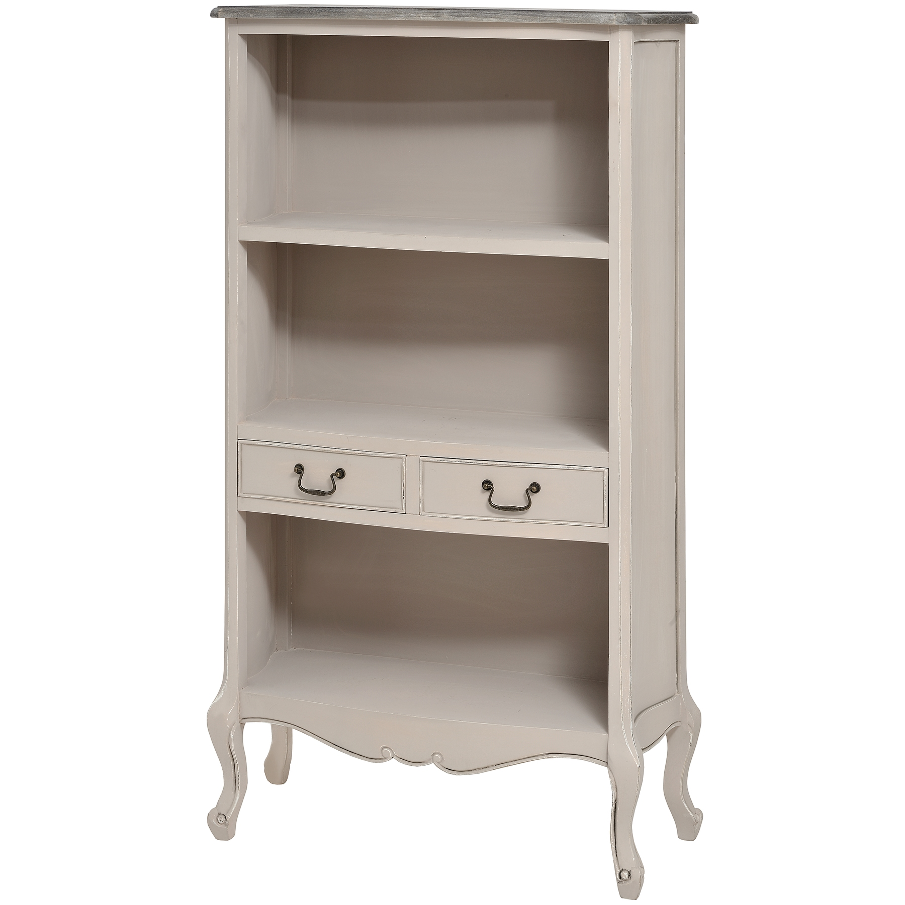 Louisiana Range - Tall Bookcase With 2 Drawers