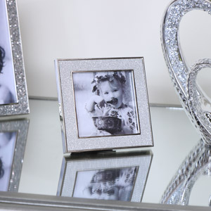 Square Silver Photo Frame