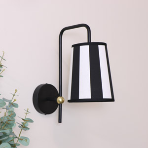 Mono Stripe Wall Light