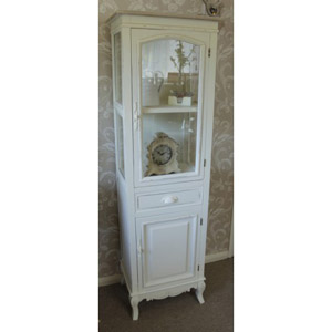 Country Ash Range Display Cabinet