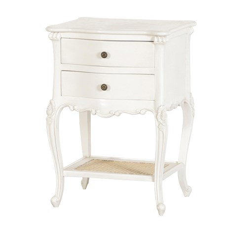 Louis XV - Two Drawer Bedside