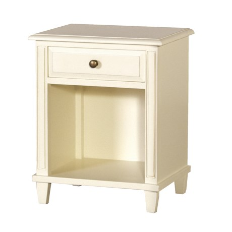 London Range - Cream Open Bedside Cabinet