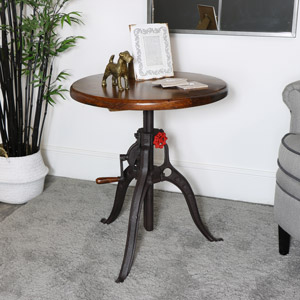 Adjustable Wooden Top Bar Table
