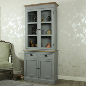 Tall Glazed Display Cabinet - Admiral Range