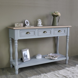 Three Drawer Sideboard/Console Table - Admiral Range