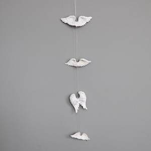 Angel Wings Hanging Garland