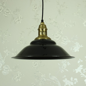 Black and Gold Hanging Pendant Light