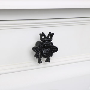Black Bumblebee Drawer Handle