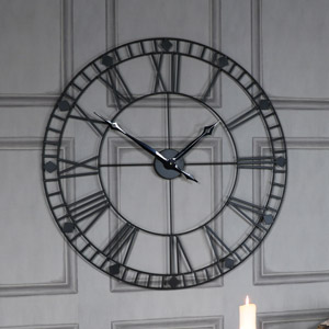 Industrial French Style Clocks Melody Maison