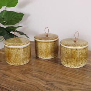 Brown Porcelain Jars