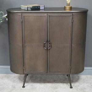 Curved Industrial Storage Cabinet