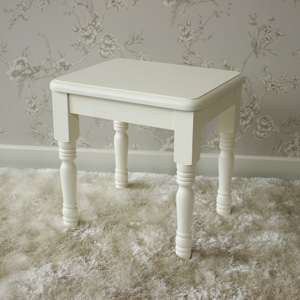 Canterbury Range - Cream Dressing Table Stool