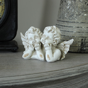 Cherub Twins Ornament