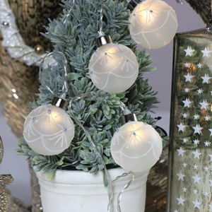 Christmas Bauble Fairy Lights