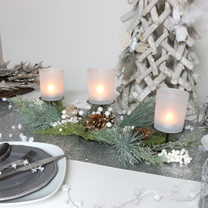 Christmas Fir Candle Stand