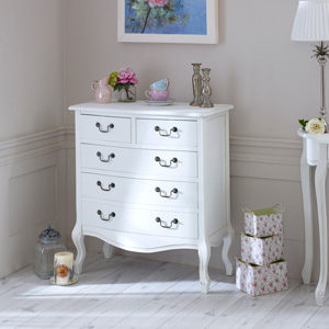 Classic White Range - Large White Chest of Drawers
