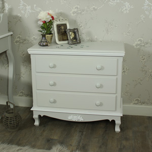 Light Grey Chest of Drawers - Claudette Range
