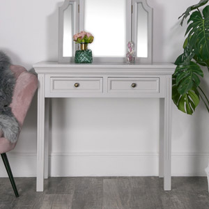 Daventry Dove Grey - Console Table