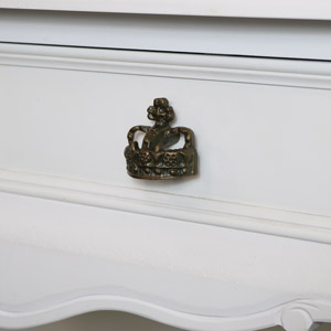 Copper Crown Drawer Knob