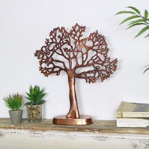 Copper Tree Ornament