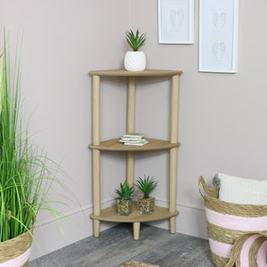 Corner Display Shelving Unit