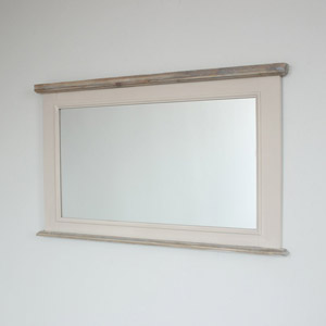Large Over Mantel Wall Mirror - Cotswold Range 105cm x 62cm