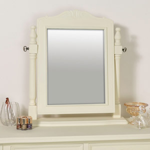 Cream Dressing Table Vanity Mirror - Elise Cream Range