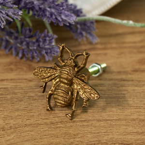 Decorative Bumblebee Drawer Knob