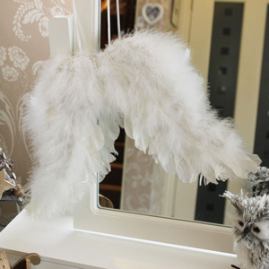 Large Decorative Feather Angel Wings