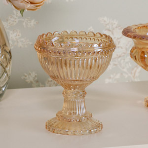 Decorative Ombre Glass Display Bowl