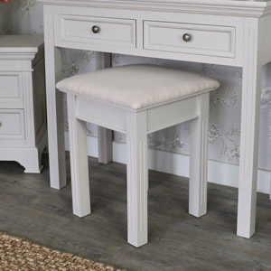 Dressing Table Stool - Daventry Taupe-Grey Range