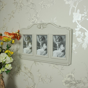 Elise Grey - Triple Photograph Frame
